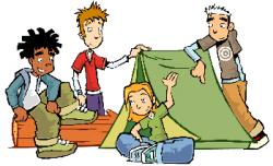 Camp clipart adventurer