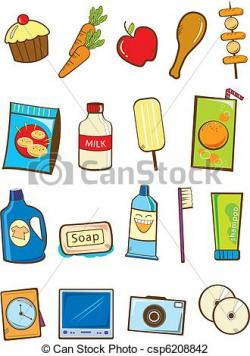 Products clipart grocery item