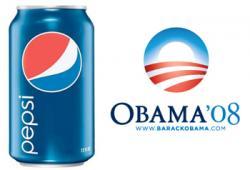 Pepsi clipart obama