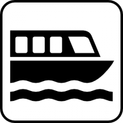 Ferry clipart riverboat