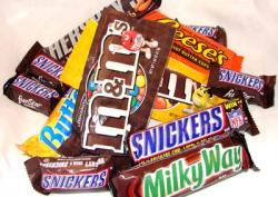 Candy Bar clipart pile