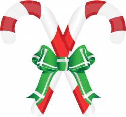 Candy Cane clipart double