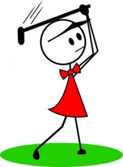 Golf Course clipart women's golf