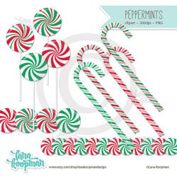 Candy Cane clipart peppermint