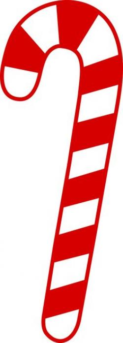 Candy Cane clipart piece candy
