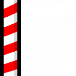 Candy Cane clipart pole