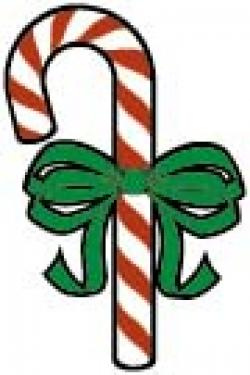 Candy Cane clipart small