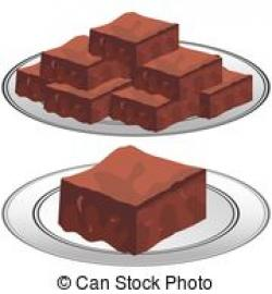 Brownie clipart fudge