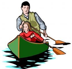 Row Boat clipart kid canoe