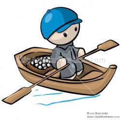 Canoe clipart cute