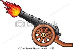 Medieval clipart cannon