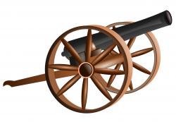 Civil War clipart cannon