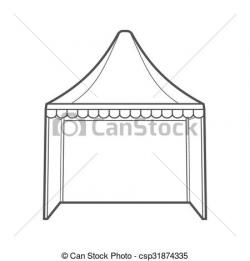 Canopy clipart marquee tent