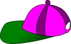 Capped clipart pink hat
