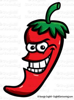 Chili clipart cartoon