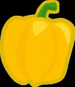 Capsicum clipart yellow