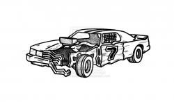 Crash clipart derby car