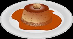Caramel clipart custard