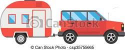 Caravan clipart car caravan