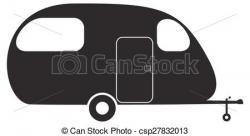 Caravan clipart logo