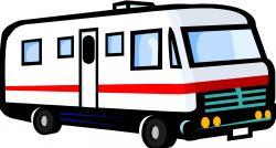 Camper clipart campervan