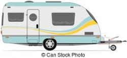 Caravan clipart vector