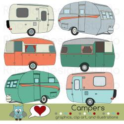 Lodge clipart camper