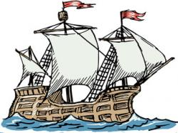 Caravel clipart small