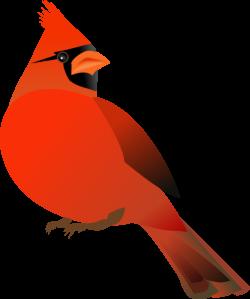 Dead clipart cardinal