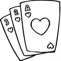 Deck clipart black and white