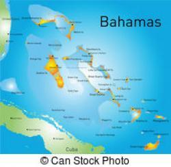 Bahamas clipart Bahamas Map Clipart