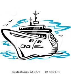 Cruise clipart ship line