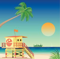Miami clipart miami beach