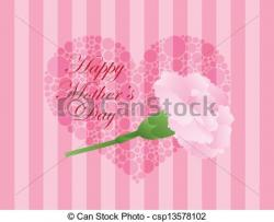 Carnation clipart mothers day