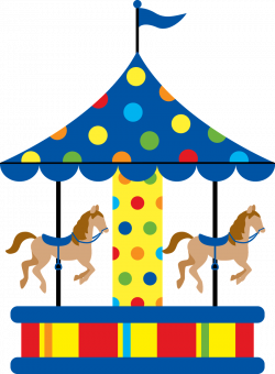 Carousel clipart simple
