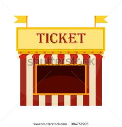 Popcorn clipart ticket booth