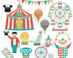 Pendent clipart carnival
