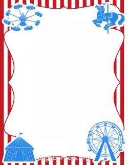 Carneval clipart border