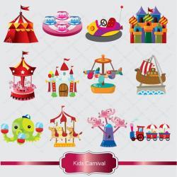 Carneval clipart carnival scene