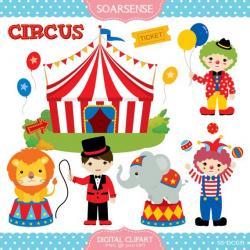 Carneval clipart circus show