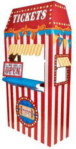 Carneval clipart ticket booth