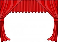 Curtain clipart cute