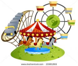 Carneval clipart family amusement park