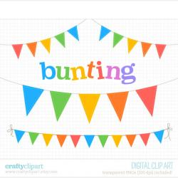 Carneval clipart flag bunting