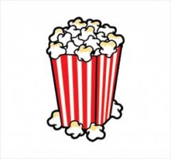Popcorn clipart loose