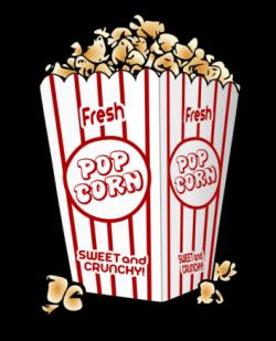Popcorn clipart popcorn bucket