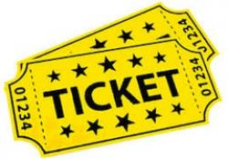 Carneval clipart ticket out