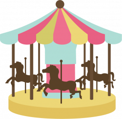 Victorian clipart carousel