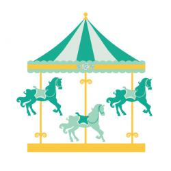 Carneval clipart merry go round
