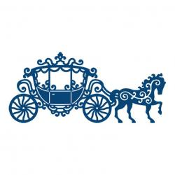 Horse-drawn Carriage clipart cinderella carriage